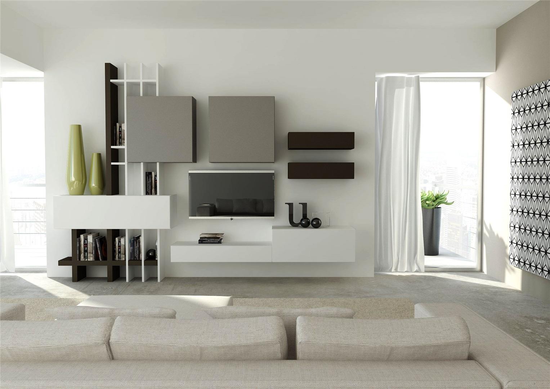 Foto arredo soggiorno moderno 30