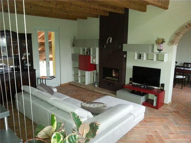 Il soggiorno di Chiara - soggiorno moderno componibile