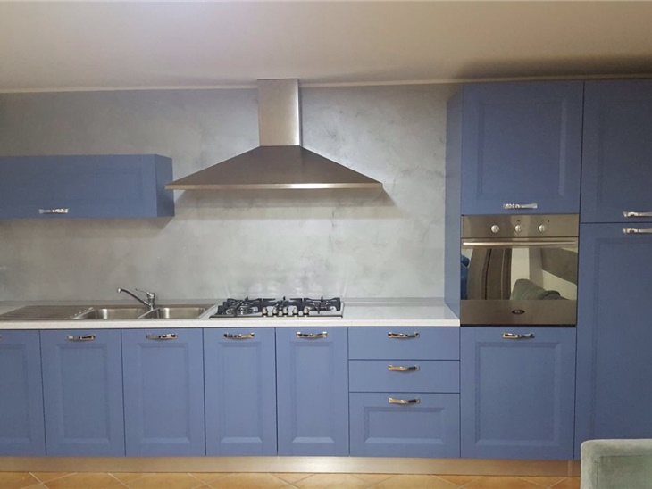 La cucina di Luca - anta a telaio moderna