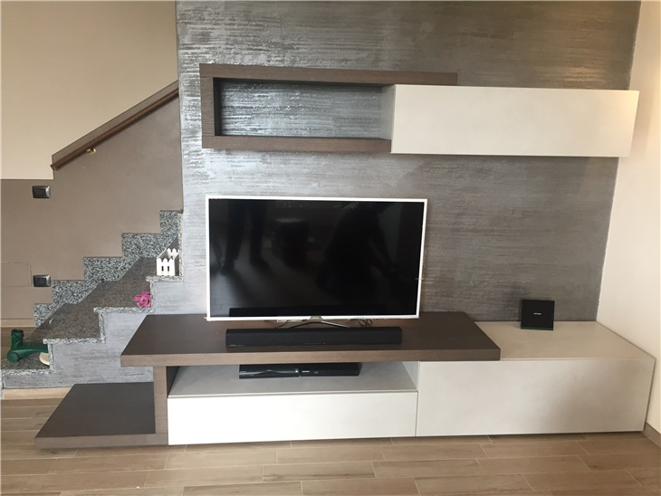 Soggiorno di Elisa - soggiorno moderno componibile