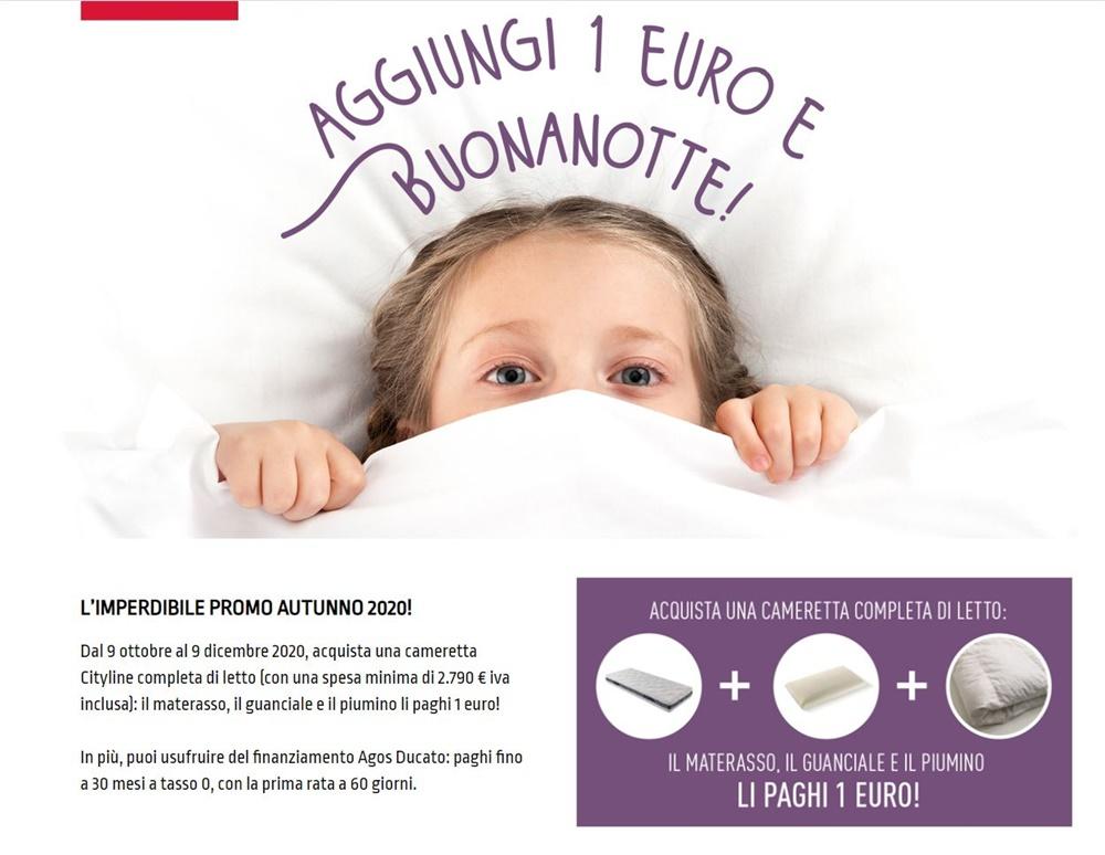 AGGIUNGI 1€ E BUONANOTTE!